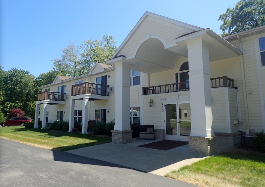 The Independent Living Apartments at DaySpring Services in Norton Shores